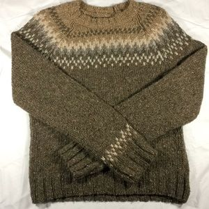 A&F Wool Fair Isle Sweater